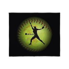iPitch Fastpitch Softball (right handed) Throw Bla