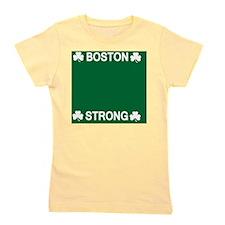 Boston Strong Shamrock Girl's Tee