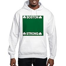 Boston Strong Shamrock Hoodie