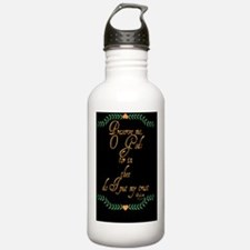 Psalm 16 1 Green Vine Water Bottle