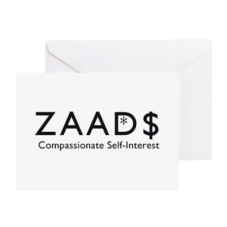 ZAAD$: Compassionate Self-Int Greeting Cards (Pack