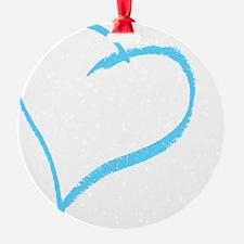 Baby Boy Handprint Ornament