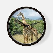 Mara Giraffes Wall Clock