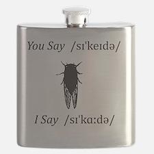 you say cicada and i say cicada Flask