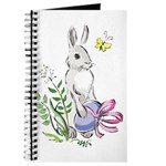 Pretty Easter Bunny Journal