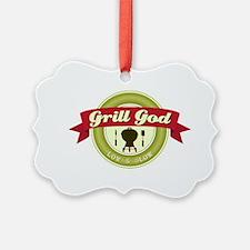 Grill God Ornament