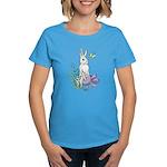 Pretty Easter Bunny Women's Dark T-Shirt
