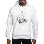 Pretty Easter Bunny Hooded Sweatshirt