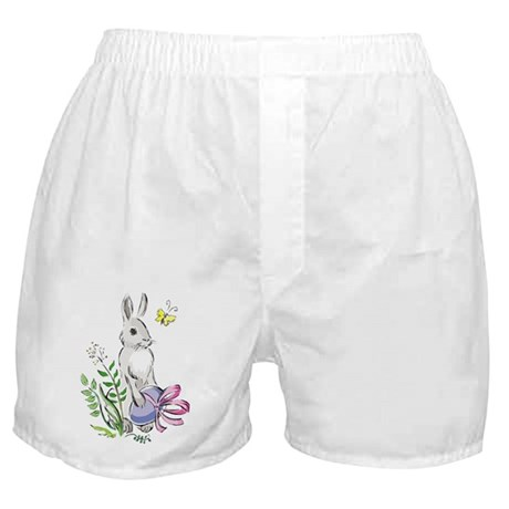 Pretty Easter Bunny Boxer Shorts