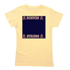 Boston Strong Ribbon Girl's Tee