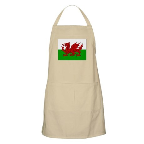Welsh Flag BBQ Apron