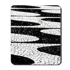 Portuguese pavement Mousepad