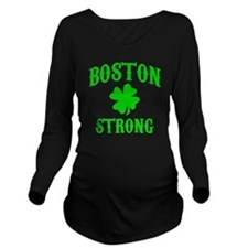Boston Strong Long Sleeve Maternity T-Shirt