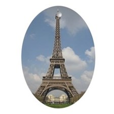 effiel tower Oval Ornament