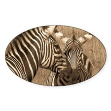 African Zebras Decal