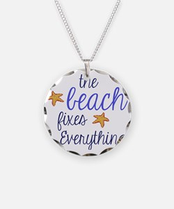 The Beach Fixes Everything Necklace