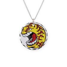 Havoc Screaming Softball Necklace