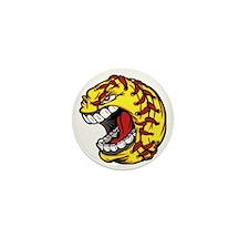 Havoc Screaming Softball Mini Button