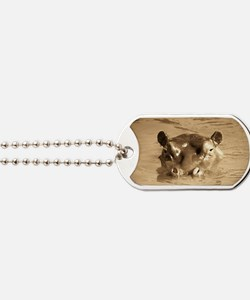 River Hippo Dog Tags