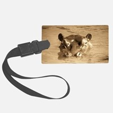 River Hippo Luggage Tag