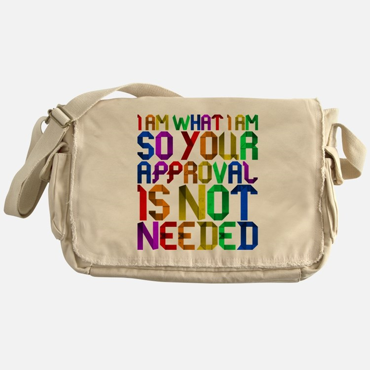 I am who I am Messenger Bag