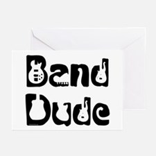 Band Dude Greeting Cards (Pk of 10)