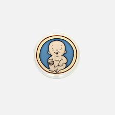 buddha-womb-T Mini Button