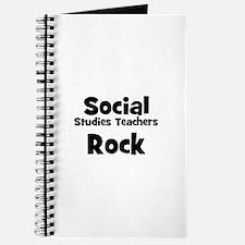Social Studies Teachers Rock Journal