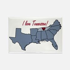 Tennessee-South Rectangle Magnet