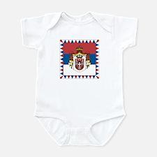 Grb Srbije/Serbian Coat of arms Infant Bodysuit