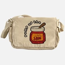 Pump up the Jam Messenger Bag