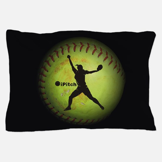iPitch Fastpitch Softball (right handed) Pillow Ca
