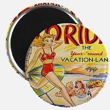 Vintage Florida Vacation Land Magnet
