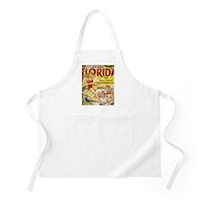 Vintage Florida Vacation Land Apron