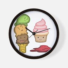 Ice Creamocide Wall Clock