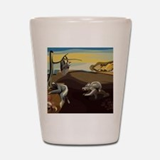 Persistence of Sloths Shot Glass