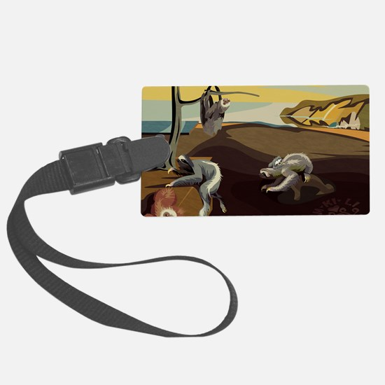 Persistence of Sloths Luggage Tag