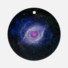 Eye of the Universe Round Ornament