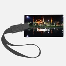 Istanbul_5x3rect_sticker_HagiaSo Luggage Tag