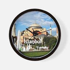 Istanbul_6x6_HagiaSophia Wall Clock