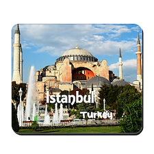 Istanbul_6x6_HagiaSophia Mousepad