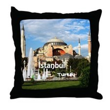 Istanbul_6x6_HagiaSophia Throw Pillow