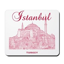 Istanbul_12X12_HagiaSophia_Red Mousepad
