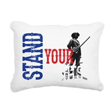 Stand Up For Your Rights Rectangular Canvas Pillow