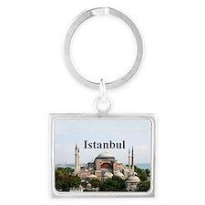 Istanbul_2x3_HagiaSophia Landscape Keychain