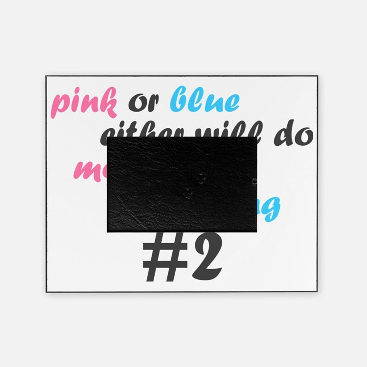 Pink or Blue Picture Frame