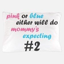Pink or Blue Pillow Case