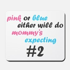 Pink or Blue Mousepad