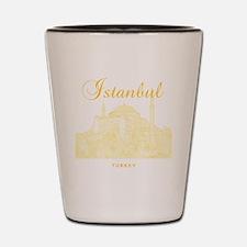 Istanbul_12X12_HagiaSophia_Yellow Shot Glass