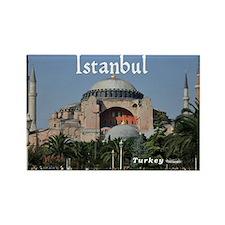 Istanbul_19X12_Bag_HagiaSophia Rectangle Magnet